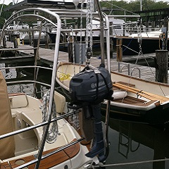 custom stern arch