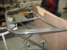 stainless steel stern platform