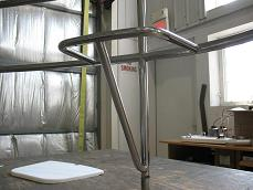 stainless steel stern seat