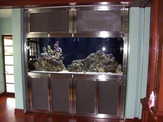 stainless steel fish tank