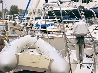 dinghy davits