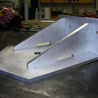 keel support for sailboat